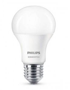 Philips LED žárovka SceneSwitch 9,5W 827/840 E27