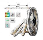 McLED LED pásek SMD5050 24V IP20 RGB 14,4W/m (ML-128.601.60.0)