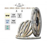 McLED LED pásek SMD3528 12V IP20 WW-teplá bílá 9,6W/m (ML-121.231.60.2)